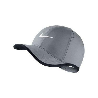 Nike Kids Featherlight Hat - Cool Grey