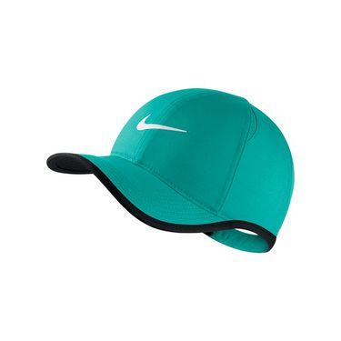 Nike Kids Featherlight Hat - Turbo Green/Black/White