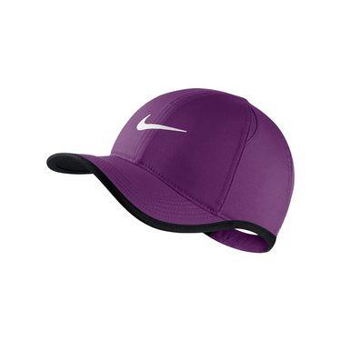 Nike Kids Featherlight Hat - Night Purple/Black/White