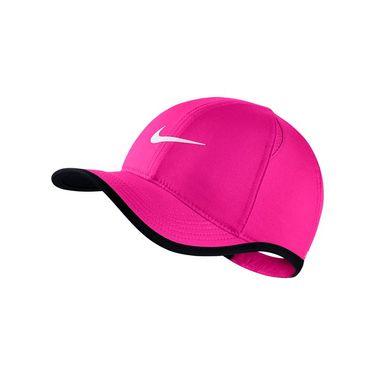 Nike Kids Featherlight Hat - Lethal Pink/Black/White