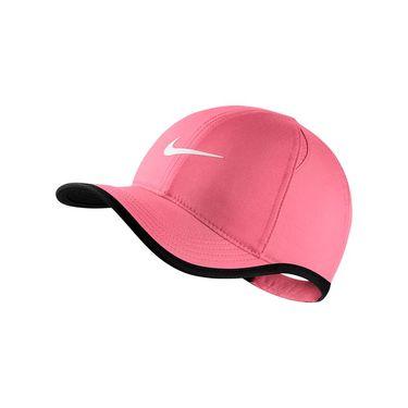 Nike Kids Aerobill Featherlight Hat - Sea Coral/Black 739376 823