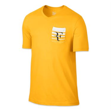 Nike Roger Federer Crew - Varsity Maize