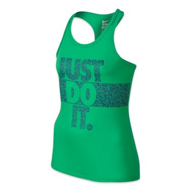 Nike Girls Palm JDI Tank - Spring Leaf