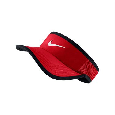 Nike Featherlight Visor - University Red