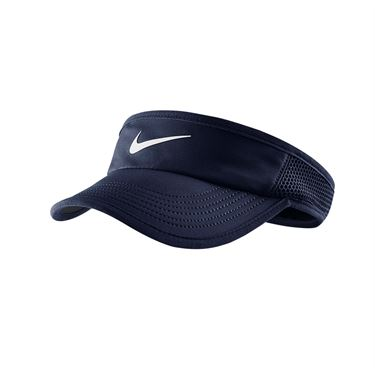Nike Womens Featherlight Visor - Obsidian