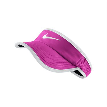 Nike Womens Feather Light Visor - Fire Pink