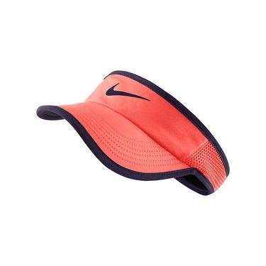 Nike Womens Feather Light Visor - Bright Mango