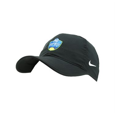 Nike Western and Southern Open Logo Team Feather Light Hat - Black