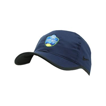 Nike Western and Southern Open Logo Team Feather Light Hat - Collegiate Navy