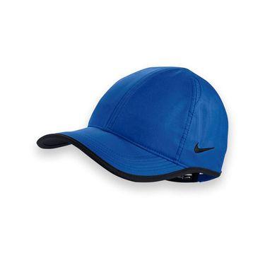 Nike Team Featherlight Hat - Game Royal/Black