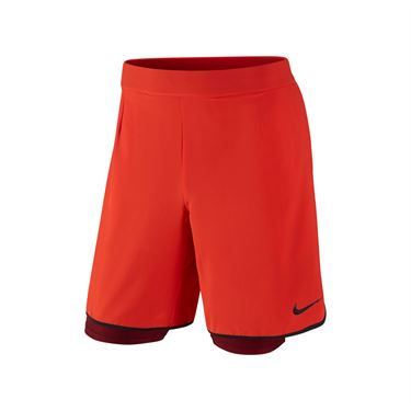 Nike Gladiator 2 in 1 Short - Lite Crimson