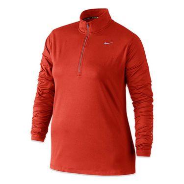 Nike Plus Size Element 1/2 Zip - Lite Crimson