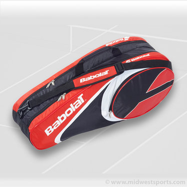 Babolat Club Line 6 Pack Red Tennis Bag