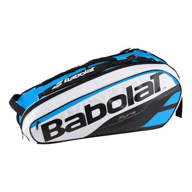 Babolat Pure Line 6 Pack Tennis Bag - Blue/White