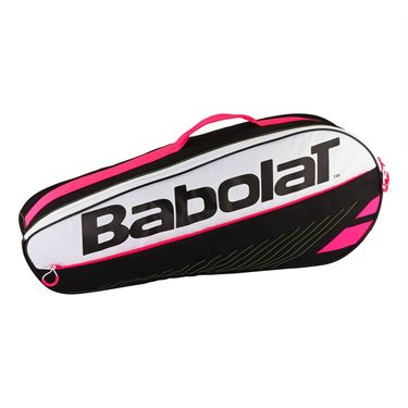 Babolat Club Line Essential 3 Pack Tennis Bag - Black/Pink