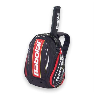 Babolat AeroPro Backpack Red/Black Tennis Bag