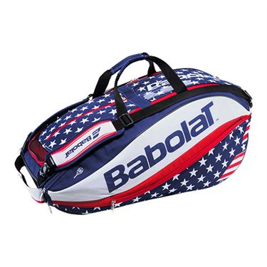 Babolat Pure Aero Stars and Stripes 12 Pack Tennis Bag