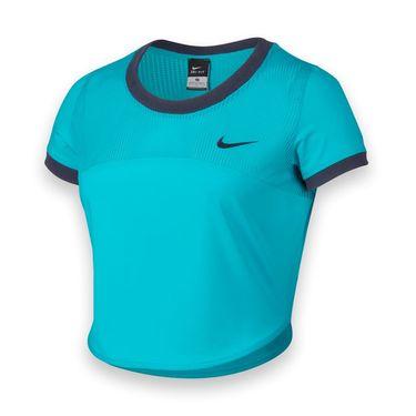 Nike Premier Crop Top - Omega Blue