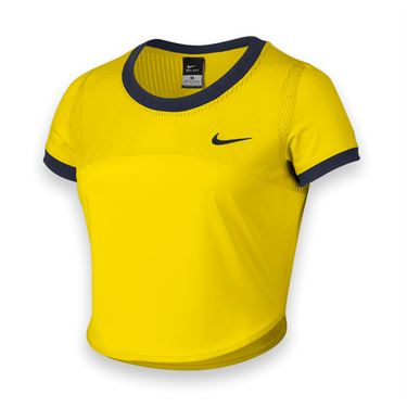 Nike Premier Crop Top - Opti Yellow