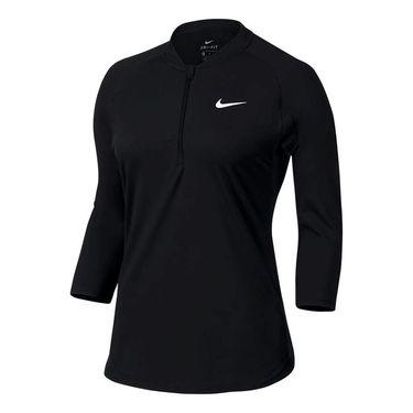 Nike Court Dry 1/4 Zip - Black