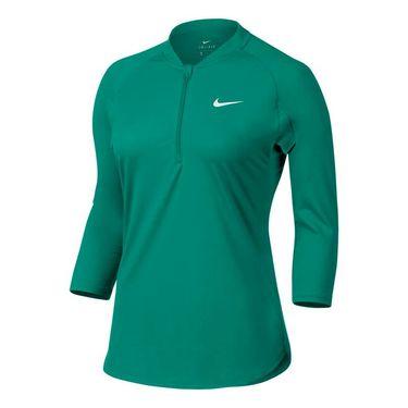 Nike Court Dry 1/4 Zip - Rio Teal