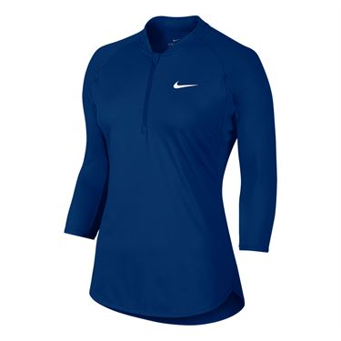 Nike Court Dry Pure Top - Blue Jay
