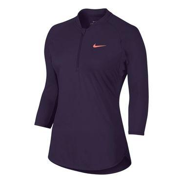 Nike Court Dry 1/4 Zip - Purple Dynasty