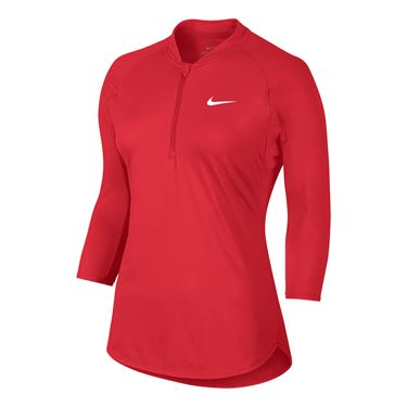 Nike Court Pure Drive Top - Action Red