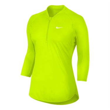 Nike Court Dry 1/4 Zip - Volt
