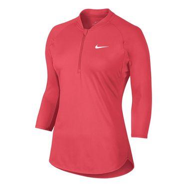 Nike Court Dry 1/4 Zip - Ember Glow