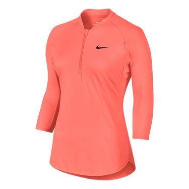 Nike Court Dry 1/4 Zip - Bright Mango