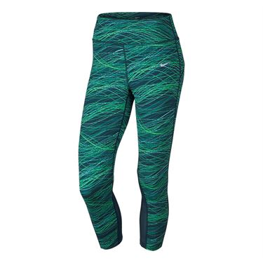 Nike Power Epic Lux Running Crop Pant - Midnight Turquoise