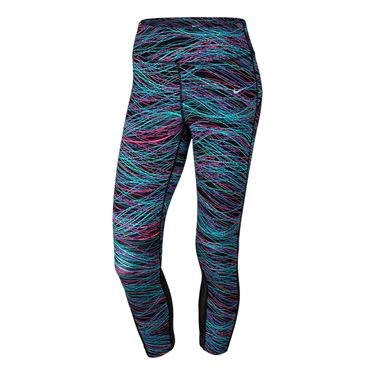 Nike Power Epic Lux Running Crop - Multi Color