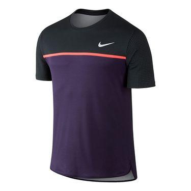 Nike Court Challenger Crew - Purple Dynasty/Bright Mango