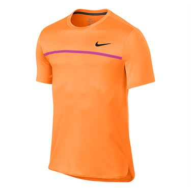 Nike Court Challenger Crew - Bright Citrus/Fire Pink