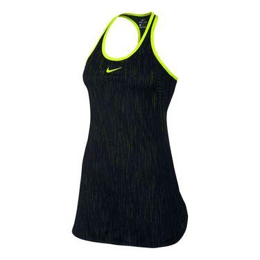 Nike Dry Slam Premier Dress - Black/Volt