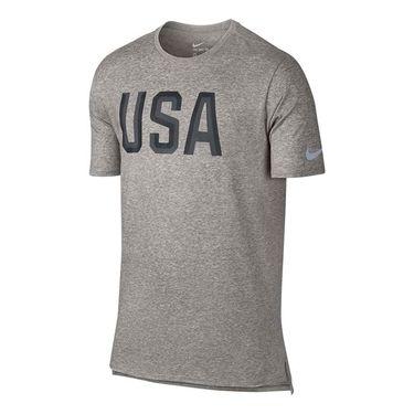 Nike Team USA Tee - Dark Grey Heather