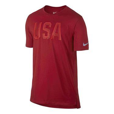 Nike Team USA Tee - Gym Red