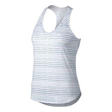 Nike Court Dry Tank - White