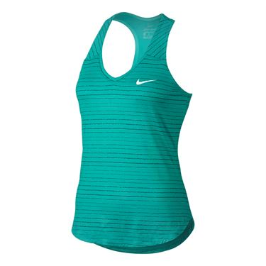 Nike Court Dry Tank - Washed Teal