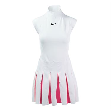 Nike Court Power Dress - White/Hyper Pink