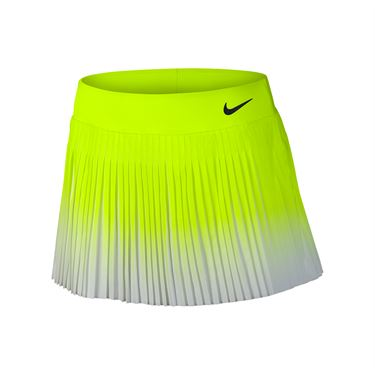 Nike Flex Victory Skirt Long - Volt/White