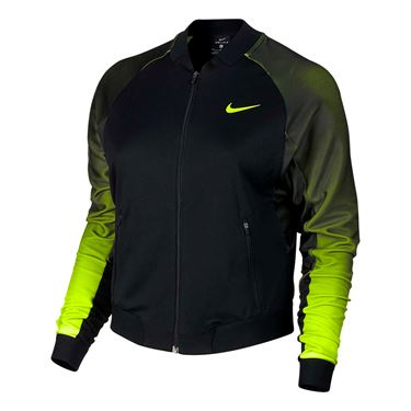 Nike Court Tennis Jacket - Black/Volt
