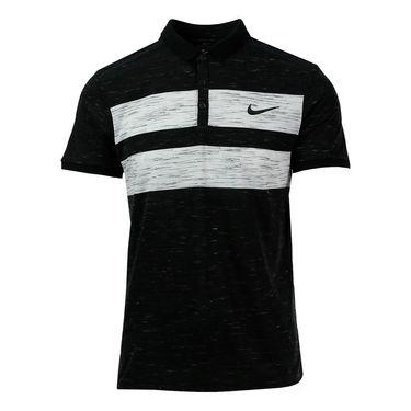 Nike Court Dry Advantage Polo - Black/White