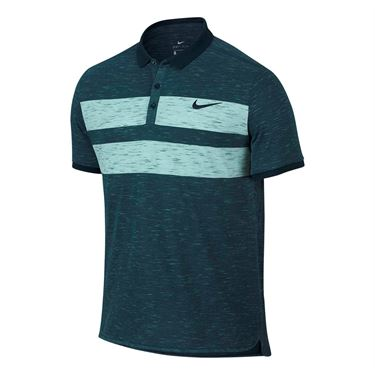Nike Court Dry Advantage Polo - Midnight Turquoise