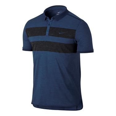 Nike Court Dry Advantage Polo - Coastal Blue