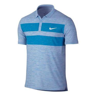 Nike Court Dry Advantage Polo - Blue Cap
