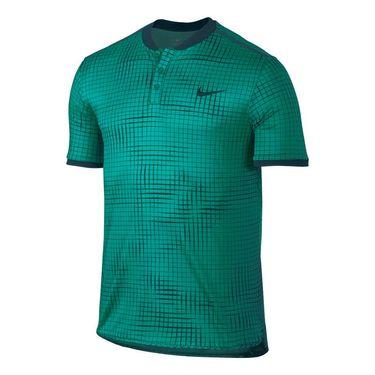 Nike Court Advantage Printed Polo - Rio Teal