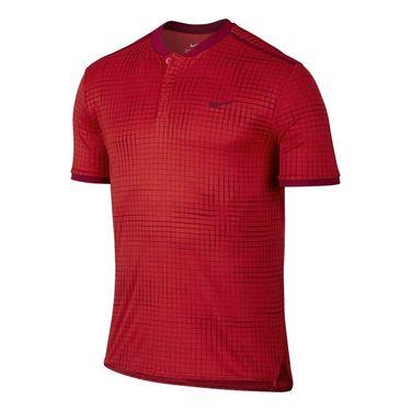 Nike Court Advantage Printed Polo - University Red
