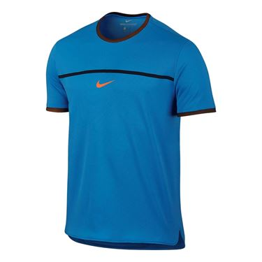 Nike Rafa Challenger Crew - Light Photo Blue